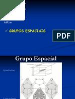 Grupos Espaciais