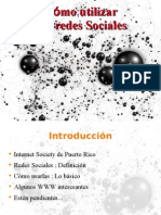 Cómo utilizar las redes sociales- Eduardo Díaz- Internet Society Chapter Puerto Rico