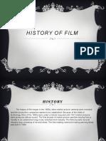 History of Film1