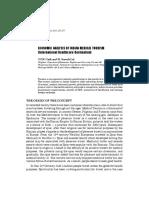 economic analysis of indian medical tourism.pdf