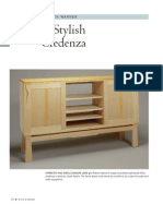 Woodworking plans - Stylish Credenza