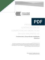 Gestión de La Certificación de Las Competencias Didácticas Del Docente Uc_vf