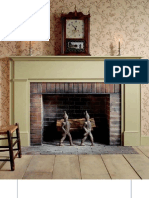 Woodworking plans - Simple Federal Mantel