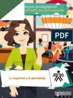 Material La Cognicion y El Aprendizaje