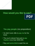 Pay+Preposition