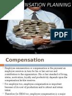 5. Compensation Planning
