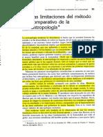 Boas_Las Limitaciones Del Metodo Comparativo de La Antropología