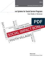 Building Performance Systems for Social Service Programs