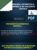 Antibioticos en Paciente Grave 05-12-15