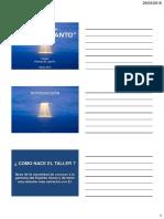 2016 - Taller Espiritu Santo - Introduccion