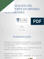 organizacion del transporte minero en subterraneas