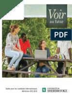 Usherbrooke Guide Candidats Internationaux 2015 2016