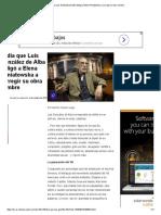 El Día Que Luis González de Alba Obligó a Elena Poniatowska a Corregir Su Obra Cumbre