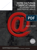 Entre culturas y ciberculturas Jorge gonzalez.pdf