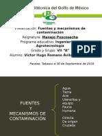 Fuentes y Mecanismos de Contaminacion