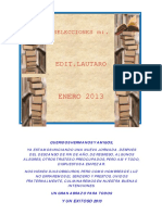 Selecciones Masónicas Enero 2013. Ediciones Lautaro