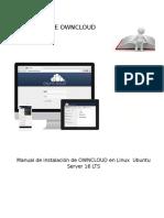 Manual de Instalación de OWNCLOUD