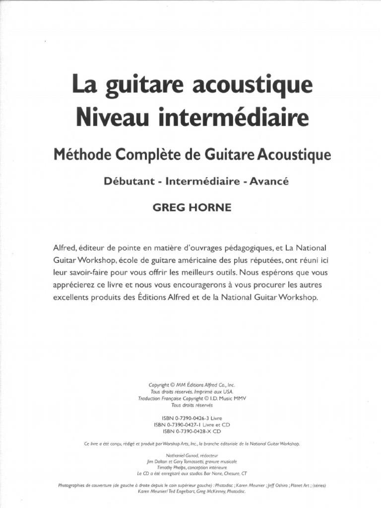 154426744 Greg Horne Guitare Acoustique Intermediaire Pdf