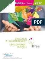 Les formations de l'iFREE 2017