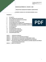 Rppe 143 2016 Sad 000 700 Registro de Preços Para Aquisição de Insumos Laboratoriais