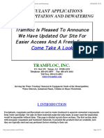 TRAMFLOC, INC. - Flocculant Applications For Precipitation and Dewatering.pdf