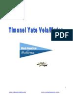 Apunte Timonel Vela Motor CNB