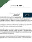 Monografia Del Fenomeno Del Nino