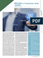 La Nuova ISO 9001-2015 e l'Evoluzione Della Gestione Per La Qualità