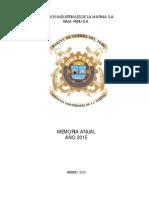 3200 SimaPeru II Memoria Anual 2015