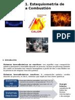 Estequiometria de La Combustion