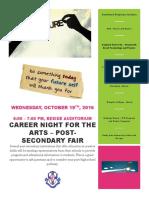 Oct 19 Career Fair