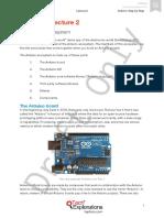 Arduino SbS Draft Notes May 2015