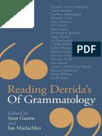 Reading Derrida 039 s of Grammatology