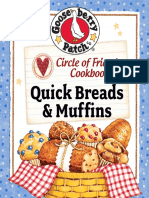 Gooseberry Patch Circle of Friends 25 Quick Breads & Muffins