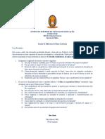 Exame de Didáctica de Física I 2015