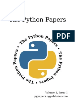 The Python Papers Volume 1, Issue 1