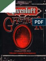 Ravenloft - Gazetteer Volume III