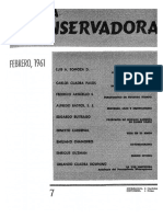Revista Conservadora No. 7 Feb. 1961