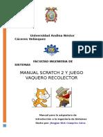 Scratch Guia El Vaquero