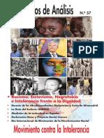 Cuad. Análisis Nº57. Racismo, Esclavismo, Afrodescendientes