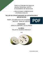 Perfil de Importacion Guanabana