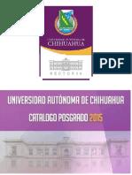 Catalogo de Posgrado2015