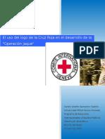 """El uso del logo de la Cruz Roja en el desarrollo de la """"Operación Jaque"""""""