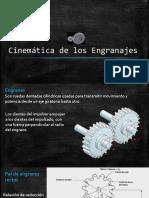 Cinemática de Los Engranajes