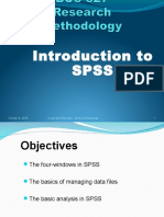 Week 7 - Introduction to SPSS