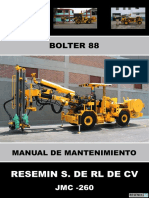 Manual de Mantenimiento Bolter 88 Jmc-260