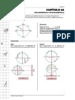 Cap 8A. Circunferencia Trigonométrica
