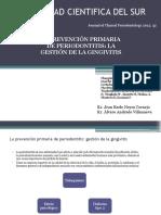 Prevención Primaria de Periodontitis