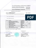 FM Test Report From BUET