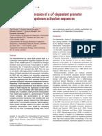 Seminario Factores Sigma Alternativos Porrua Et Al 2009